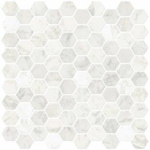 Hexagon 25 4cm X L Stick Mosaic Tile