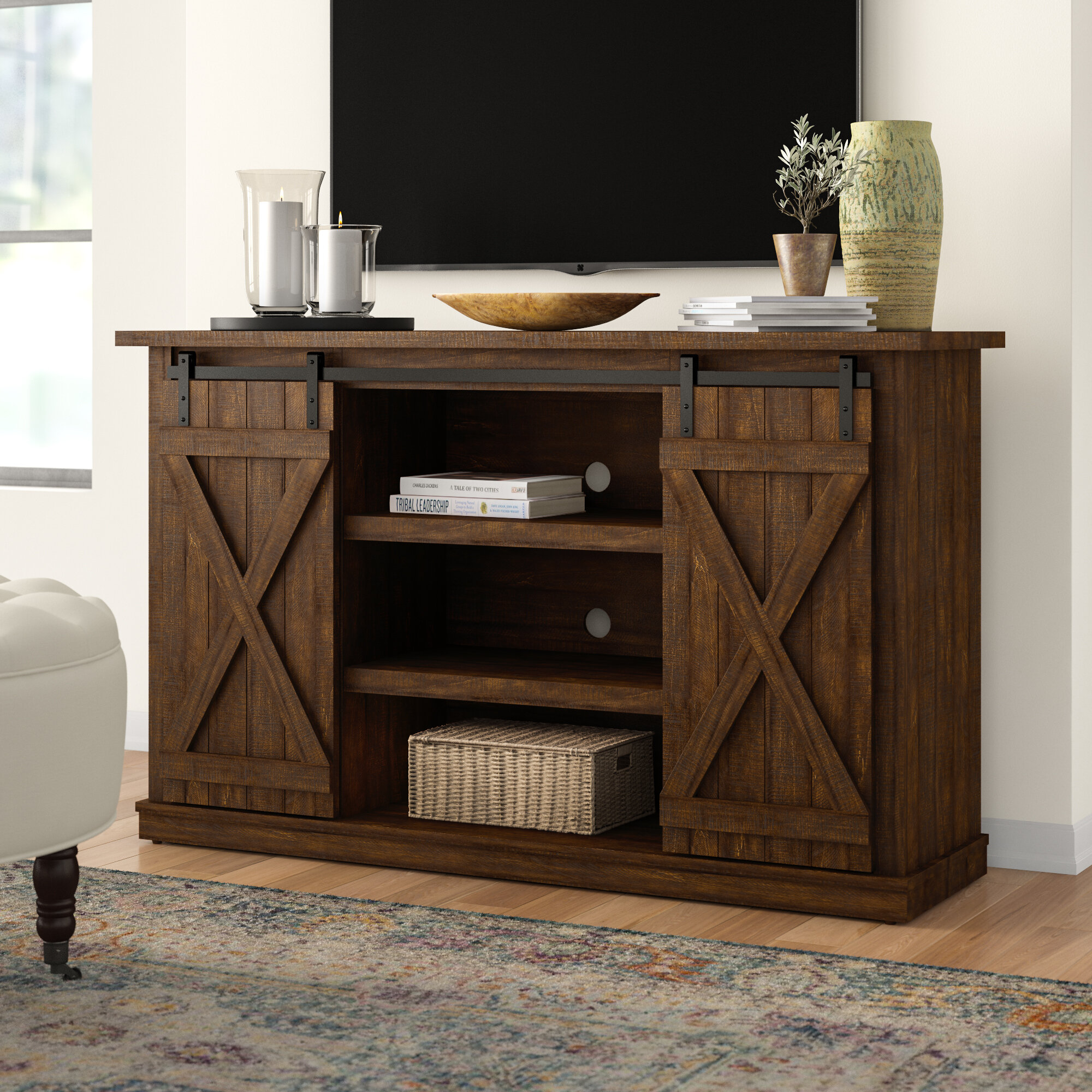 Three Posts Lorraine Tv Stand For Tvs Up To 60 Reviews