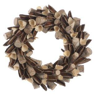 Wreath By The Seasonal Aisle