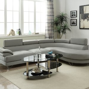 Ketan Reclining Sectional : faux leather sectional - Sectionals, Sofas & Couches