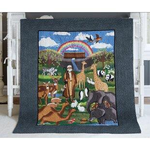 Affordable Knaresborough Noah's Ark Quilt ByZoomie Kids
