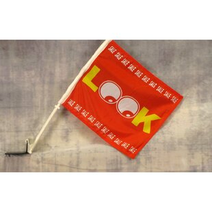 Look Sale Car Window Polyester 1 X 1'3 Ft. Flag Set by NeoPlex