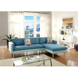 Benavides Upper Strode Reversible Sectional by Ivy Bronx Wonderful