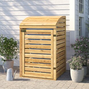 Kesterson Wooden Single Bin Store By Sol 72 Outdoor
