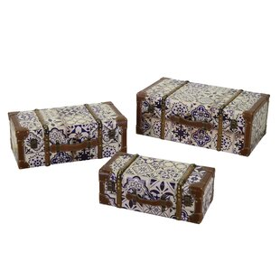 3 Piece Chattanooga Trunk By August Grove