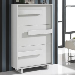 Orren Ellis Shoe Storage Cabinets You'll Love | Wayfair