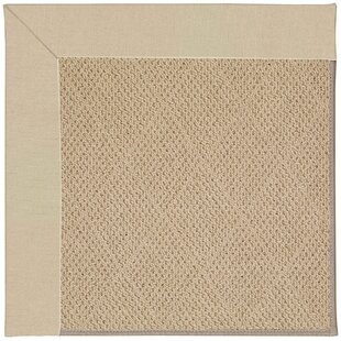 Lisle Machine Tufted Ecru/Beige Indoor/Outdoor Area Rug
