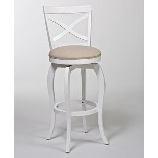 Juelz 25.25 Swivel Bar Stool Highland Dunes