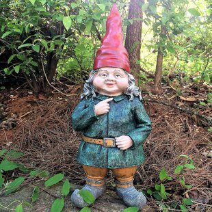 Gnomes Of Toad Hollow Zelda The Female Garden Gnome Statue By Gnomes Of Toad Hollow