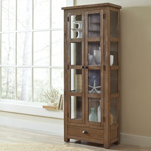 Seneca Solid Pine Curio Cabinet by Birch ..