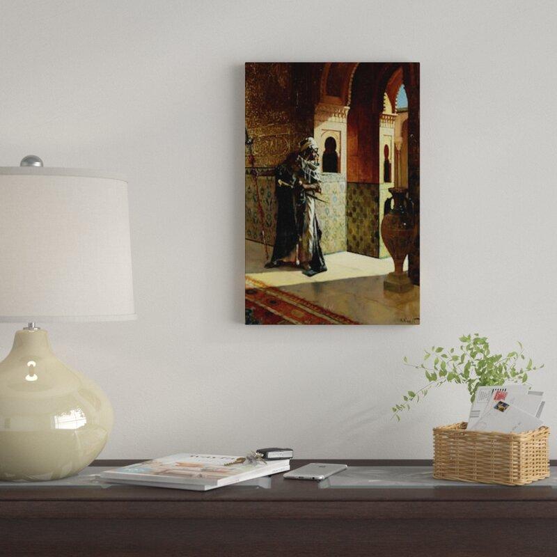 The moorish guard Giclee Canvas Print