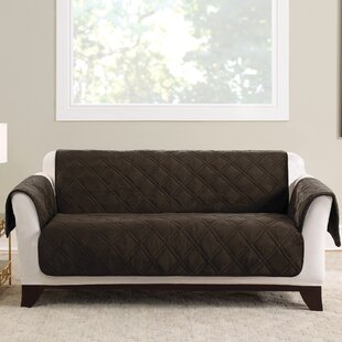 Triple Protection FC Box Cushion Loveseat Slipcover
