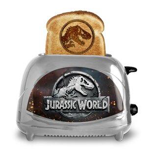 2 Slice Jurassic World Toaster