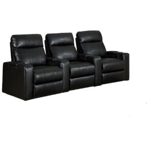Home Theater Recliner Row of 3 by Latitude Run