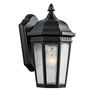 Reviews Flinders 1-Light Outdoor Wall Lantern By Darby Home Co