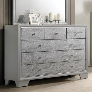 Wash 9 Drawer Double Dresser