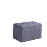 Threatt Shoe Gauze Upholstered Storage Bench by Charlton Home®