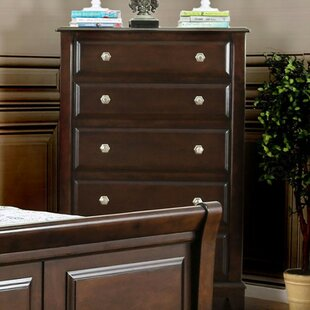 Deals Fedeli Transitional 5 Drawer Chest by Red Barrel Studio