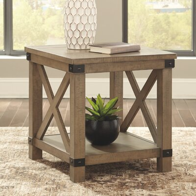 Farmhouse Amp Rustic Grey End Amp Side Tables Birch Lane