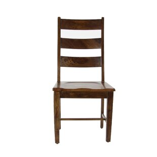 Union Rustic Devon Traditional Mango Solid Wood Dining Chair