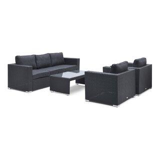 5 Seater Rattan Sofa Set Image