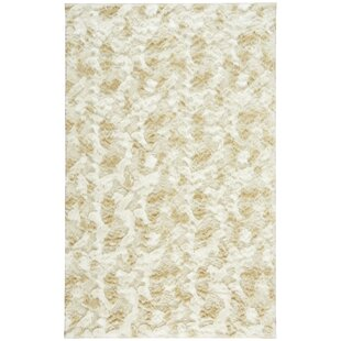 Reviews Cozy Polar White/Beige Area Rug By Capel Rugs