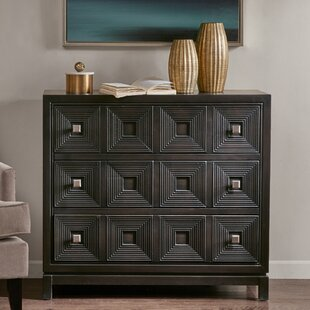 Best Sterns 3 Drawer Accent Chest By Mercury Row