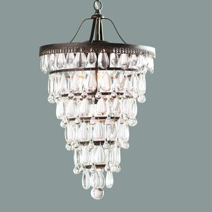 Albrecht Conical 4-Light Chandelier by Trent Austin Design
