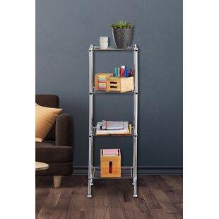 Discount 33 X 101cm Free Standing Bathroom Shelf