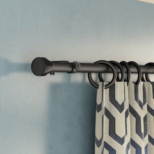 New Hartford Curtain Single Rod Hardware Set by Greyleigh