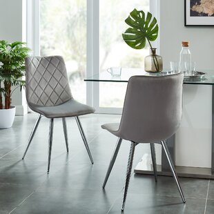 Gothenburg Upholstered Dining Chair (Set of 2) Ivy Bronx