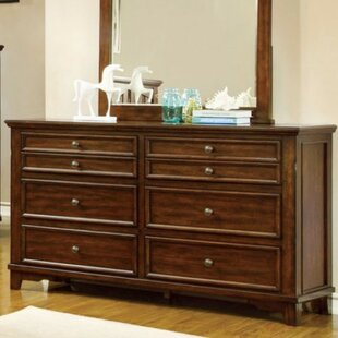 Darby Home Co Torri 8 Drawer Double Dresser