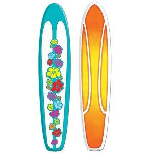 Jointed Surfboard Wall Du00e9cor