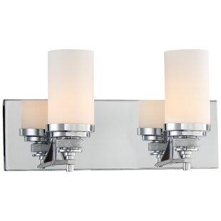 Latitude Run Mishler 2-Light Vanity Light