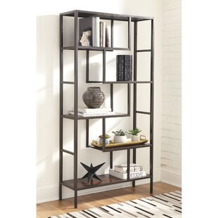 Sorrentino Geometric Bookcase by Williston Forge