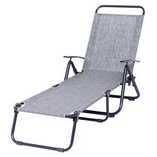 Burkhalter Reclining Chaise Lounge by Ebern Designs
