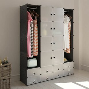 Atterberry 146cm Wide Clothes Storage System By Bloomsbury Market