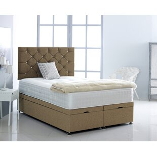 Kaplan Upholstered Ottoman Bed With Mattress By Ebern Designs