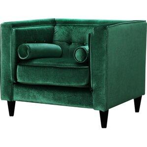 Roberta Velvet Club Chair ..