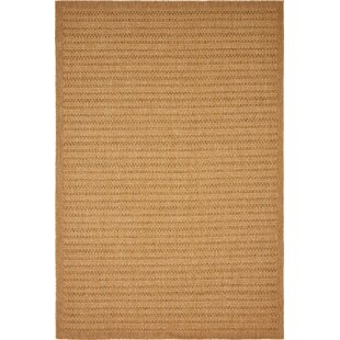 Auckland Light Brown Indoor/Outdoor Area Rug