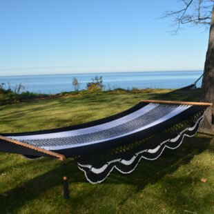 Freeport Park Wiltshire Handwoven Double Tree Hammock