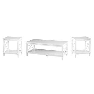 Larksmill 3 Piece Coffee Table Set