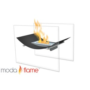 Sienna Free Standing Indoor Outdoor Ethanol Fireplace by Moda Flame