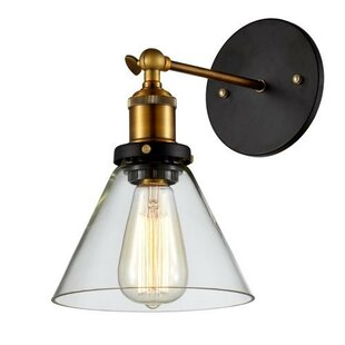 Reviews Edison Vintage 1-Light Armed Sconce By OHR Lighting
