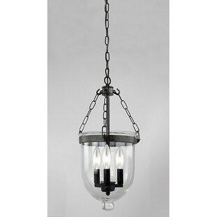 Winston Porter MontBlue 3-Light Urn Pendant