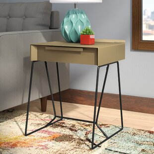 Sweeney End Table with Storage By Wrought Studio