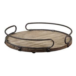 Adalwin Round Serving Tray