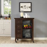 Ordway Kitchen Cart by Loon Peak®