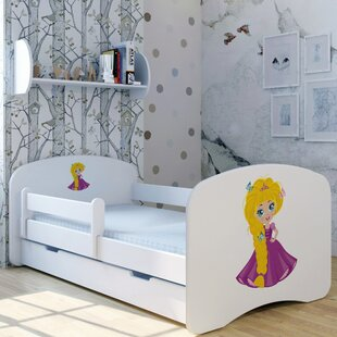 Princess Lisa Convertible Toddler Bed With Drawer By Zoomie Kids