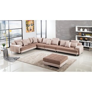 Eder Modular Sectional with Ottoman by Orren Ellis